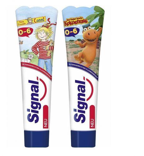 Signal 0-6歲專用含氟兒童牙膏 50ml