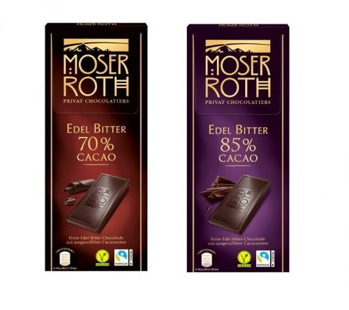 德國 Moser Roth 高純巧克力 125g